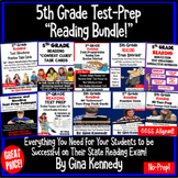 5th Grade Reading BUNDLE! Test-Prep and Reading Skills Review