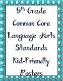 5th Grade Language Arts Standards
