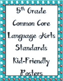 5th Grade Language Arts Standards