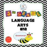 5th Grade Language Arts and Grammar BUNDLE