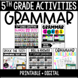 5th Grade Language Centers