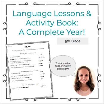 5th Grade Language Lesson Book (CCSS)
