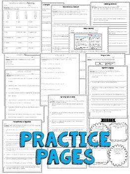 5th Grade Language Resources {Bundle}