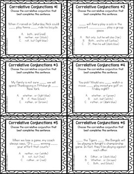 5th Grade Language Centers: 5th Grade Grammar Activities