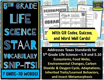 5th grade life science staar adaptations food webs carbon oxygen cycle pdf. Black Bedroom Furniture Sets. Home Design Ideas