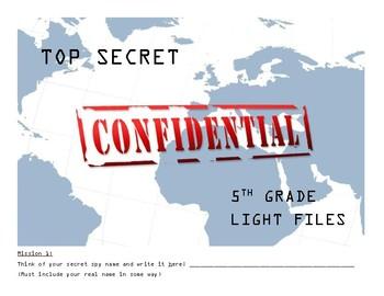 5th Grade Light Activity