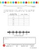 5th Grade: Line Plot Practice - includes Student Self-Assessment