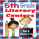 5th Grade Literacy Centers Set 2
