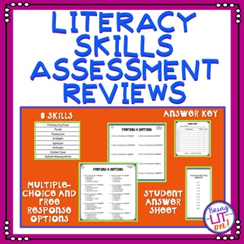 ELA Test Prep - Literacy Skills Assessment Reviews