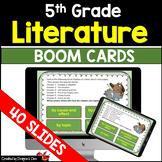 5th Grade Literature Digital Boom Cards