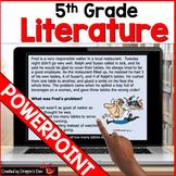 5th Grade Literature PowerPoint