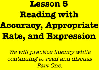 5th Grade Louisiana Guidebooks Wonderstruck Lessons 1-8 Flipchart