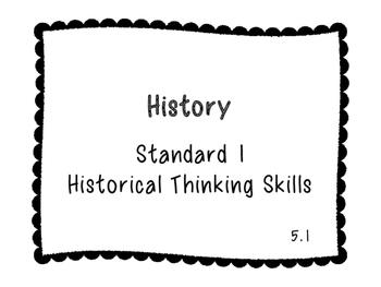 5th Grade Louisiana Social Studies GLEs (B&W)