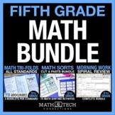 5th Grade MATH BUNDLE - Guided Math or Math Workshop