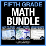 5th Grade MATH BUNDLE - Guided Math or Math Workshop
