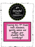 5th Grade MATH End of the Year Post-Assessment ALL STANDARDS