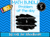 MATH Task Cards - Problem of the Day ( 5th grade word problems )