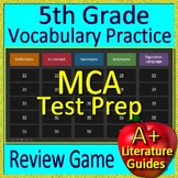 5th Grade Test Prep Vocabulary and Figurative Language Review Game