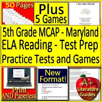 5th Grade MCAP Reading ELA: Maryland Comprehensive Assessment Program