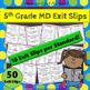5th Grade MD Bundle: 5th Grade MD Curriculum MEGA Bundle: Measurement & Data