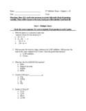 5th Grade Math MIDTERM EXAM
