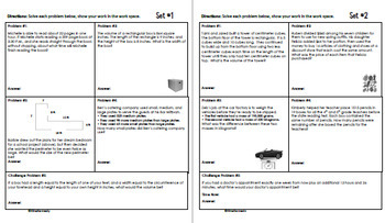 Daily Problem Solving for 5th Grade: March Word Problems (Multi-step)
