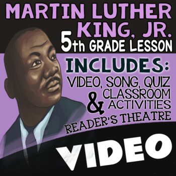 Black History Month Activities: 5th Grade Martin Luther King Jr Reading Passages