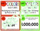 5th Grade Math 5NBT2 COLOR Task Cards Powers of 10 for Jenga