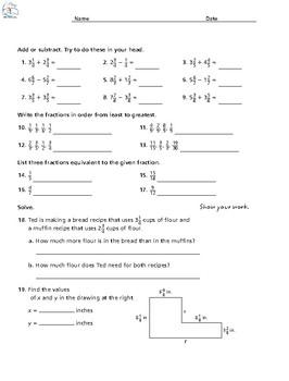 5th Grade Daily Math Review BUNDLE