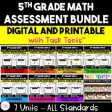 5th Grade Math Assessment MEGA Bundle
