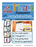 5th Grade Math Assessment with Learning Goals & Scales - A