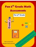 5th Grade Math Assessments for Indiana Academic Standards