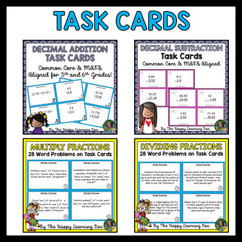 5th Grade Math For ALL YEAR BUNDLE