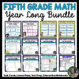 5th Grade Math FOR ALL YEAR