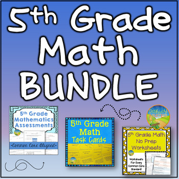 5th Grade Math BUNDLE!