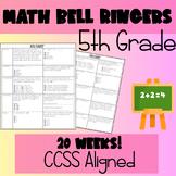 Math Bell Ringers