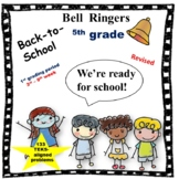 5th Grade Math Bell Ringers (for the first 6 to 7 weeks) TEKS-aligned