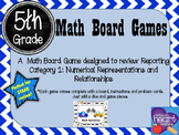 5th Grade Math Board Game- Math Speedway (STAAR Aligned)
