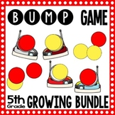 40 Math Center Games - 5th Grade Math Bump Games - Growing Bundle!