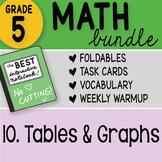 Math Doodle - 5th Grade Math Bundle 10. Tables and Graphs