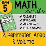 Math Doodle - 5th Grade Math Bundle 12. Volume