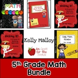 Distance Learning 5th Grade Math Bundle