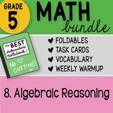 Math Doodle - 5th Grade Math Bundle 8. Algebraic Reasoning