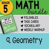 Math Doodle - 5th Grade Math Bundle 9. Geometry