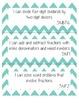 "5th Grade Math CCSS ""I Can"" Statement Posters - Chevron"