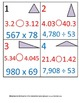 5th Grade Math Calendar - 4 Month Package:  Aug - Nov