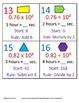 5th Grade Math Calendar - Decimal Patterns, Time, Geometry