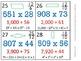 5th Grade Math Calendar - Order of Op, Mult, Div, Fractions, Quadrilaterals