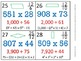 5th Grade Math Calendar - Order of Op, Mult, Div, Fraction
