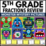 5th Grade Math Centers: 5th Grade Fraction Activities (Color by Number)